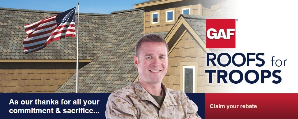 Roofing Contractor NJ | Military Discounts